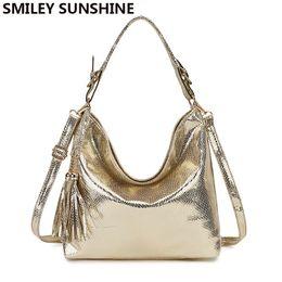 $enCountryForm.capitalKeyWord Australia - Gold Fashion Women Leather Handbags Female Shoulder Bag Ladies Hand Bags Purses And Handbags Gold Crossbody Bag For Women 2019 MX190725