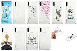Dandelion Case Australia - Soft TPU Case For Samsung Galaxy A50 A60 A70 M30 Lace Dandelion Butterfly Flower Unicorn Feather Blossom Sexy Girl Clear Fashion Phone Cover