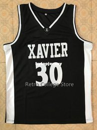 0a8dd76fd  30 David West Xavier College Top Basketball Jersey all size Embroidery  Stitched Customize any name and name XS-6XL vest Jerseys NCAA