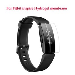 Film Fitness online shopping - Heart Rate Fitness Tracker Screen Protector for Fitbit Inspire Inspire HR Wristband Anti scratch Anti bubbles Hydrogel Film
