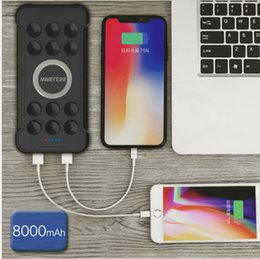 $enCountryForm.capitalKeyWord Australia - highly efficiency 5V.2A rechargeable lithium battery suction qi wireless charger power bank mobile phone 10000mah