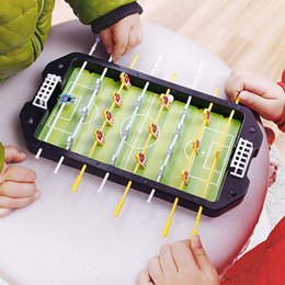 develop board UK - Mini Table Top Football Board Machine Soccer Toy Game Shooting Educational Outdoor Sport Kids Tables Play Ball Toys For Boys