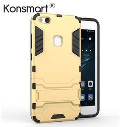 Case Huawei Lite Australia - Case Honor 10 Lite 8 9 8c 8x Max Back Cover Hard Armor Pc Phone Case For Huawei Honor 8 8c 8x 9 10lite Anti-knock Cases