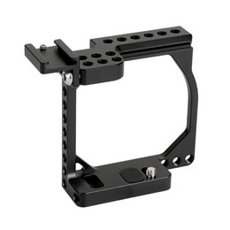 China Camera Rig Australia - CAMVATE Compact Camera Cage Rig With Shoe Mount Adapter For Sony A6000 A6300 A6400 A6500 Canon EOS M   M10 C2126