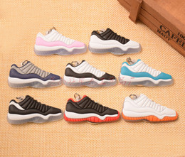 christmas gift shoes NZ - 201909 Cute Silicone basketball shoes Key Chains Sport Sneaker Keychain Classic Key Rings Car Key Holder for Unisex Kid Christmas Gift M454F