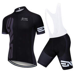 Chinese  2019 Pro UCI Team Men DNA Cycling Jersey Set MTB Bicycle Clothes Summer quick dry Road Bike Jersey Cycling Sportswear Ropa Ciclismo Y022101 manufacturers