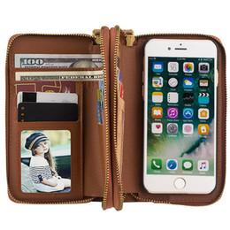 $enCountryForm.capitalKeyWord Australia - For Samsung S6 S6edge S6 edge Plus S7 S7edge S8 S8Plus Note5 Cover Wallet Phone Bag 2 in 1 Zipper wallet Cell Phone Case 058