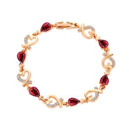 8eb0b4b48658 Pulsera de flor rosa para las mujeres de la boda delicados encantos  florales pulseras dama de honor   regalo nupcial pulseras de cristales de  amor
