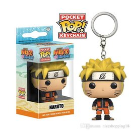 $enCountryForm.capitalKeyWord Australia - Funko Pocket POP Keychain - Animation Naruto Vinyl Figure Keyring with Box Toy Gift Good Quality Free Shipping T554