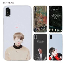 iphone 5s cell phone cases UK - Bts Fire Suga No Jams J-hope Clear Cell Phone Case Cover For Apple Iphone X 6 6s 7 8 Plus 4 4s 5 5s Se 5c