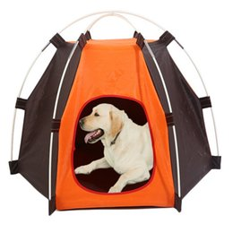 Kennel products online shopping - Soft Dog House For Large Dogs Portable Foldable Dog House Tent Top Quality Small Cat Bed Puppy Kennel Best Pet Product