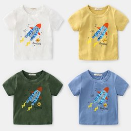 $enCountryForm.capitalKeyWord Australia - Summer Korean Childrens Clothing Boy Printing Crtoon Cotton Round Neck Short-sleeved T-shirt Baby Shirt From China Supplier