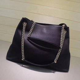 $enCountryForm.capitalKeyWord Australia - Women Luxury Handbags Large Tote Bag Real Leather Shopping Bag High Quality Female Soft Purse Chain Soho Shoulder Bags
