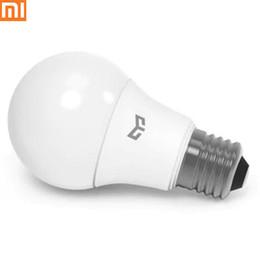 Xiaomi yeelight bulb online shopping - Xiaomi Mijia Yeelight LED Bulb Cold White W K E27 Bulb Light Lamp V For Ceiling Lamp Table Spotlight