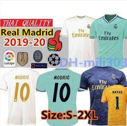 e2d17903f 19 20 Real Madrid Soccer Jersey home away soccer shirt 2019 2020 HAZARD  VINICIUS JR MODRIC MARCELO madrid EA Sports Football Shirts S-2XL