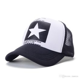 ad9680808681f New Fashion Brand Star Mesh Caps Women Casual Baseball Cap Breathable Hip  Hop Snapback Hats for Men