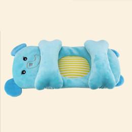 Cartoon Memory NZ - Hot 0-12 Months Newborn Baby Shaping Pillow Cute Cartoon Pillow Comfortable Anti-Flat Shaped Security Soft Baby Kussen