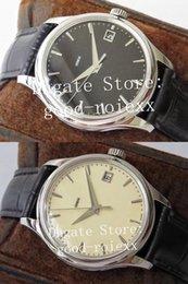 Großhandel 39mm Männer automatische ZF-Fabrik 5227 Uhr Eta Miyota 9015 Cal.324 SC Bewegung Uhren Männer Datum Calatrava Schweizer Lederband Armbanduhren
