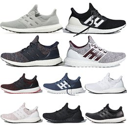 Shoe Stripes Australia - Ultra Boost Mens Running Shoes Ultraboost 4.0 Orca Candy Cane Ash Peach Triple White Black Burgundy Show Your Stripes Sports Sneakers 36-45