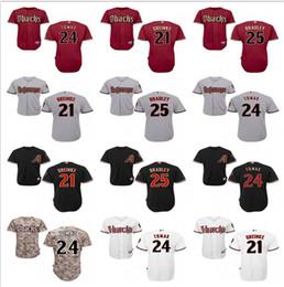 d15a76681 Baseball Jerseys Diamondbacks NZ - custom Men s women youth majestic  Arizona Diamondbacks Jersey  21 Zack