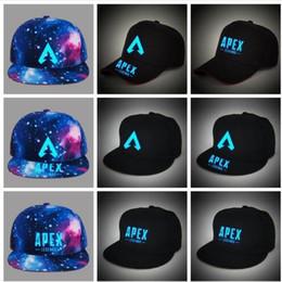 df380c6c913e4 Hats for Women Men Apex Legends Hat Baseball Adult Caps Luminous Hip Pop Hat  Streetwear Snapback Top Quality Gift Outdoor Adjustable Hats