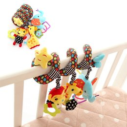Baby Rattles Australia - Toddler Toys Baby Rattles Mobiles Newborn Infant Toys Lovely Animal Baby Crib Revolves Around Bed Stroller Playing Toy Car Lathe Hanging