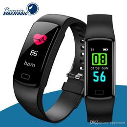 $enCountryForm.capitalKeyWord Australia - Y9 Smart Activity Tracker watch Band Fitness Bracelet Heart Rate Monitor Blood Pressure Wristbands For Smartphone Smartband