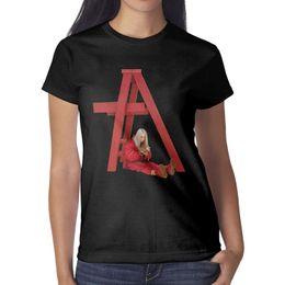 Smile T Shirt Women Australia - Billie Eilish Don't Smile At Me Women T Shirt black Shirts Custom T Shirts Vintage Personalised Champion Cheap Shirt Black