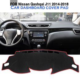 Wholesale Car Dashboard Mat Avoid Light Pad Desk Carpet Instrument Platform Cover No Slip For Nissan Qashqai J11 2014 2015 2016 2017 2018