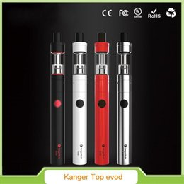 $enCountryForm.capitalKeyWord Australia - 100% Original Kangertech Topevod Starter Kit with Kanger Tech 1.7ml Top Evod Toptank Atomizer 650mah Evod Battery Vocc Coil