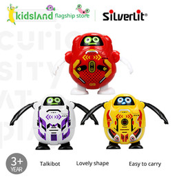 $enCountryForm.capitalKeyWord NZ - Silverlit 6 styles Intelligent Cute Recording Robot with Touch Sensitive technology Children Interactive toy Talkibot LA114