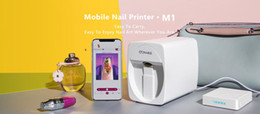 Teaching Art Australia - New Design Nail Art Printer DIY Machine V11 Multifunction Mobile Wifi Easy All-Intelligent 3D Nail Printers Video To Teach for Salon
