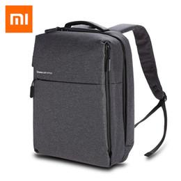 Styles Backpacks Australia - Original Xiaomi Urban Style Mi Backpack Polyester Shoulders OL Casual Sports Bag Daypack Waterproof Bags 14 inch Laptop Backpack