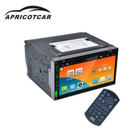 5.7 Inch Touch Screen Australia - APRICOTCAR Full Touch Screen 7 Inch 5 Nuclear Car Dvd One Machine Dual Ingot Navigation WIFI Internet Support DVR Driving Record