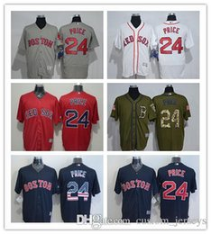 9532ad7d5 custom Men women youth Majestic Red Sox Jersey  24 David Price Home Blue Red  Baseball Jerseys