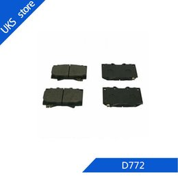 set brake pads Australia - 4piece set Car Brake Pads FRONT D772 for Land Cruiser 1998-2007