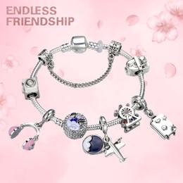 AirplAne brAcelets online shopping - Endless Fashion Travel Theme Airplane Women Charm Bracelet For Women World Travel Theme DIY Making Bracelet Jewelry Girl Gift