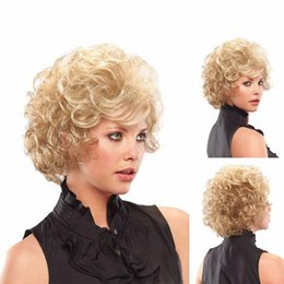kinky straight bob wig UK - 10 inches kinky curly african american wigs Women Fashion short golden wigs Heat Resistan Short Lady Bob Hair Wig Straight Charming Wigs