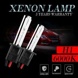 Xenon replacement bulbs online shopping - 2x H1 HID Xenon Headlight Conversion Kit Replacement Bulbs Headlamp U