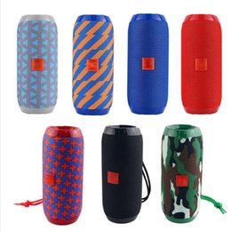 Discount 3d stereo sound - Bestselling TG117 Outdoor Bluetooth Speaker Portable Fabric Waterproof Sound Speaker HIFI Bass Stereo 3D Bluetooth Speak