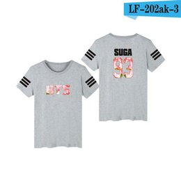 $enCountryForm.capitalKeyWord UK - New BTS Clothes Pattern Time Album SUGA Bulletproof Youth League Same Short-sleeved T-shirt Should Aid Women's Costume Football Summer