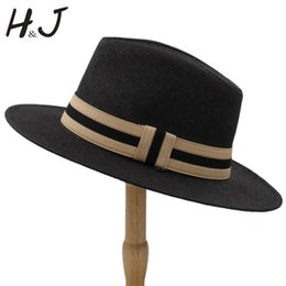 411a15aa1e4bd 6 Color Summer Women Men Straw Sun Hat With Wide Brim Panama Hat For Beach  Fedora Jazz Hat Size 56-58CM A0154-XSJ