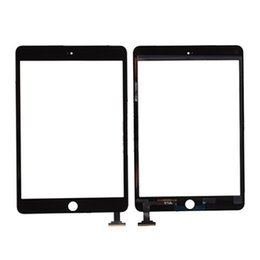 Apple Mini Connector Australia - Einpassung For iPad Mini 3 Touch Screen Glass Panel with Digitizer with IC Connector For iPad mini 3 Front Screen Digitizer Glass