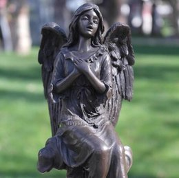 $enCountryForm.capitalKeyWord Australia - Angel bless copper sculpture crafts crafts sculpture ornaments with European figures Home Furnishing decorations gifts
