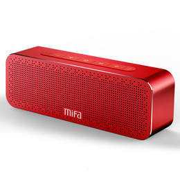 BoomBox stereo mp3 online shopping - MIFA Portable Bluetooth Speaker Wireless Stereo Sound Boombox Speakers with Mic Support TF AUX TWS T191001
