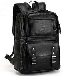 $enCountryForm.capitalKeyWord Australia - 2019 POLO Male Leather Backpack Men travel Backpacks Mochila Masculina Black Men's Bookbag laptop backpack Mochilas Para Hombre