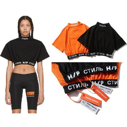 9666d1ade1a New Heron Preston T Shirt Women Harajuku Streetwear Femme Tshirt Women Long  Sleeve Gothic Vintage Tee Five-point Sleeves T-shirt