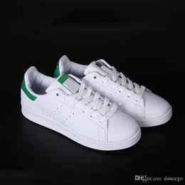 Cheap Leisure Shoes For Men NZ - top discount quality stan smith loafers for men womens cheap originals leather casual shoes breathable perfect match leisure shoes with box