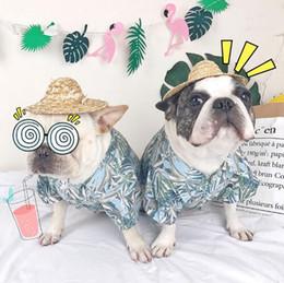 $enCountryForm.capitalKeyWord Australia - 2019 Summer Cool Hawaii Style Chihuahua Yorkies Pugs Shirt Print Pet Dog Clothes for Small Medium Dogs and Cats