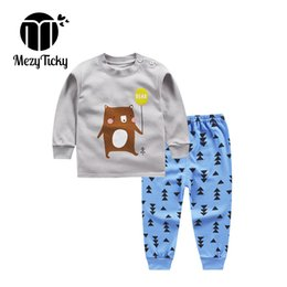 Unisex pajamas set online shopping - Boys Girls Autumn Winter Tiny Cottons Set Baby Clothes Teenage Children Boutique Pajamas Outfits for Kids Toddler